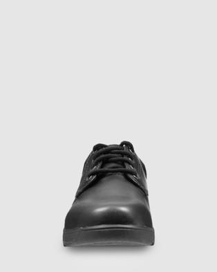 Ascent Apex   D Width - School Shoes (Black)