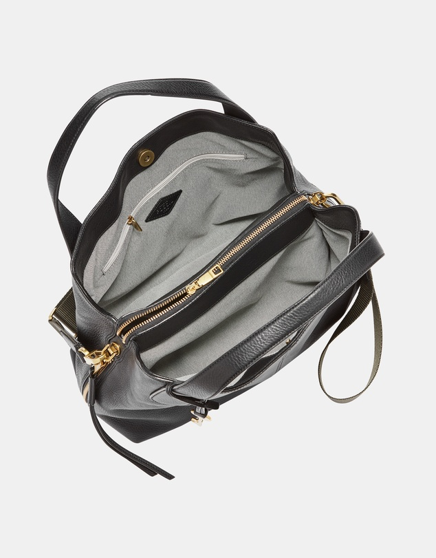 Women Maya Black Satchel Bag