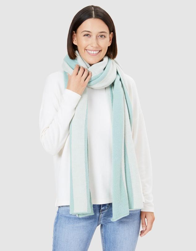 Women Wool Blend Blanket Scarf
