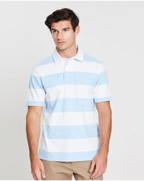 Gieves and Hawkes - Striped Polo Top