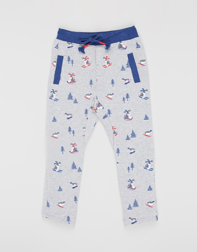 Purebaby - Slouchy Track Pants - Kids