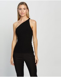 REISS - Thea Twist One Shoulder Top