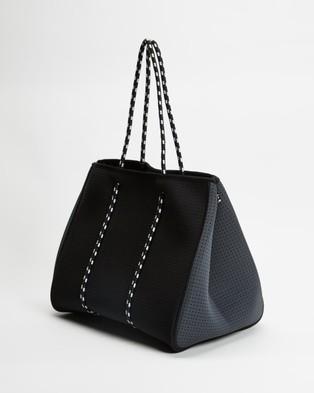 Chuchka Syd Neoprene Tote - Bags (Black & Grey)