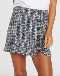 Calli - Serena Button-Up Skirt