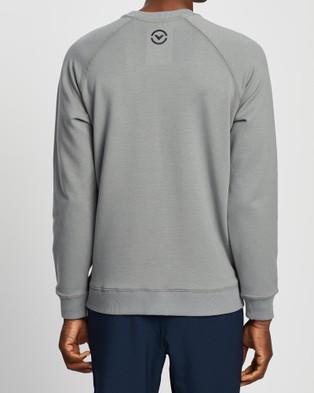 Virus Fleece VP Crew Neck Sweater   Unisex - Sweats (Grey)