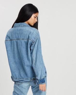 DRICOPER DENIM Tucker Denim Jacket - Denim jacket (Hi & Lo Wash)