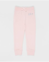 babyGap - Glitter Logo Pull-On Pants - Babies-Kids