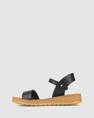 Zeroe Ramble Comfort Sandals - Sandals (Black)