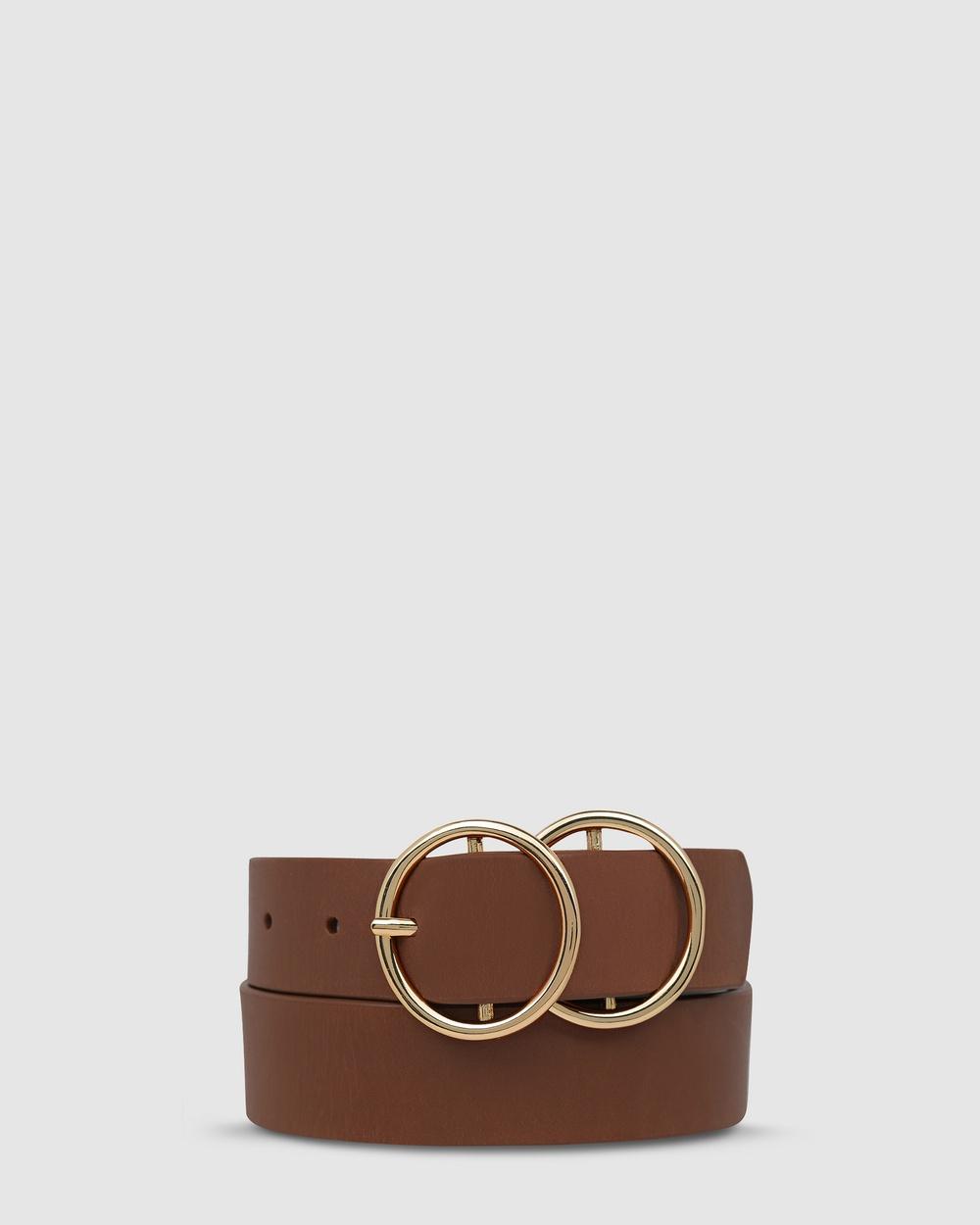 Status Anxiety Mislaid Belt Belts Tan/Gold