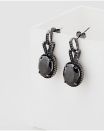 Bianc - Crescent Earrings