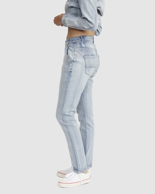 Jac & Mooki Relaxed Boyfriend Jeans - Tapered (vintage wash)