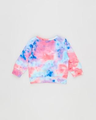 Bonds Baby - Digi Sweats Pullover Babies (Rainbow Tie Dye)