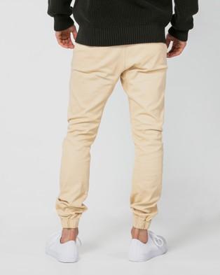 ONEBYONE Edward Chino Pants - Cargo Pants (Sand)