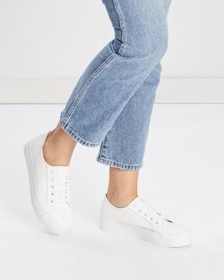 Dazie Philadelphia Sneakers - Sneakers (White Smooth)