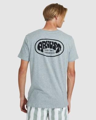 Arvust Kyle Short Sleeve T Shirt - Short Sleeve T-Shirts (LIGHT GR)