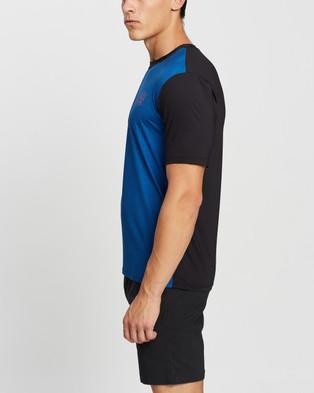 Speedo Salty Tee Short Sleeve Rashie - Swimwear (Teal & Black)