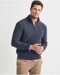 Blazer - Oscar Half Zip Cotton Mix