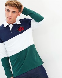 Gieves and Hawkes - Colour-Block Rugby Shirt