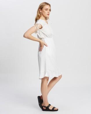 KAJA Clothing Bobbi Dress - Dresses (White)