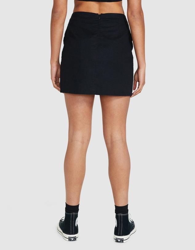 Women Syble Sister Linen Mini Skirt