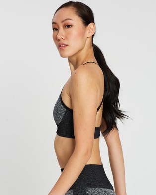 Doyoueven Impact Seamless Crop - Crop Tops (Black)