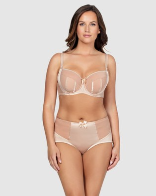 Parfait Charlotte Padded Wired Bra - Lingerie (Nude)