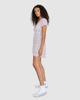 Dont Ask Amanda Libby V Neck Swing Dress - Dresses (ASSORTED)