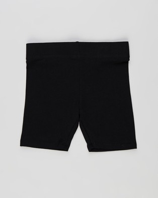 Cotton On Kids Hailey Bike Shorts 2 Pack   Kids - 1/2 Tights (Black)