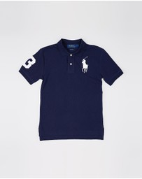Polo Ralph Lauren - Short Sleeve Polo Shirt - Teens