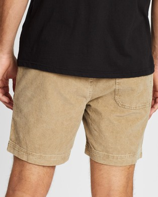 Cotton On Street Volley Shorts - Shorts (Washed Tan)