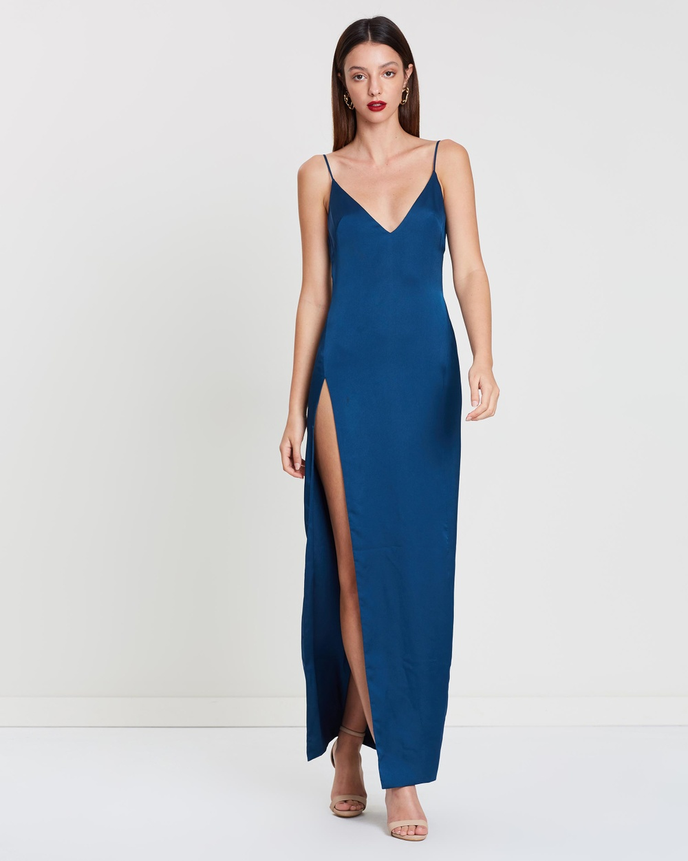 LEXI Cerulean Blue Akasa Dress