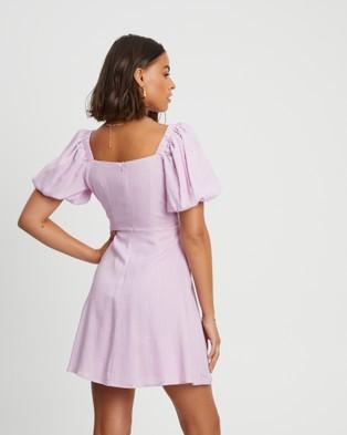 Savel Jessica Mini Dress - Dresses (Lavender)