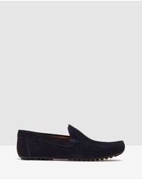 Oxford - Gunner Suede Slip On Shoes
