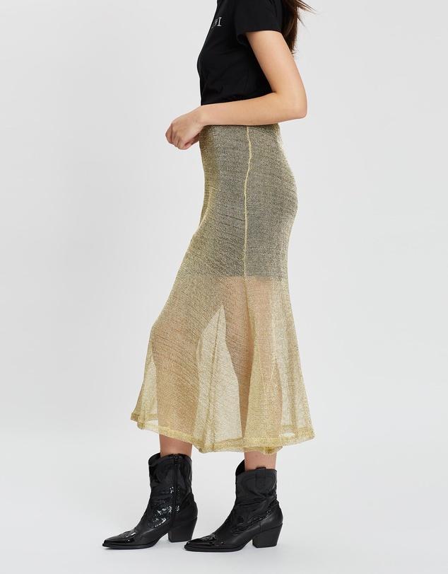 Women Solis Midi Skirt