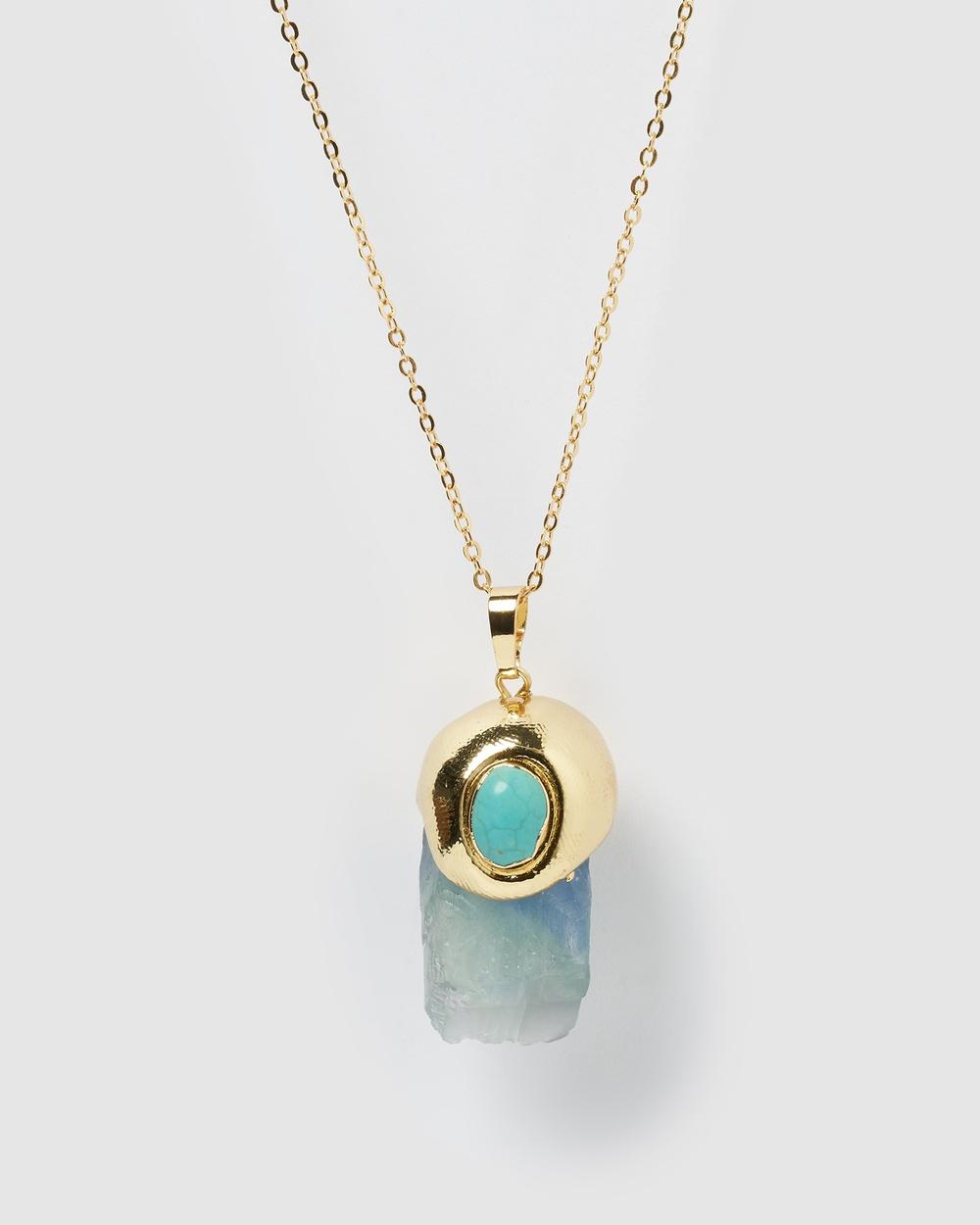 Miz Casa and Co Kerri Necklace Jewellery Gold