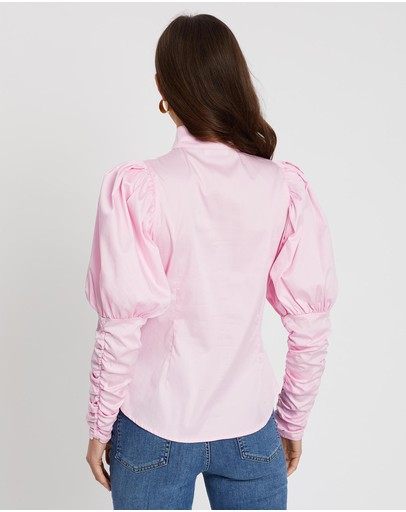 Notes Du Nord Nila Shirt Soft Pink