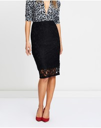 Dorothy Perkins - Stretch Lace Pencil Skirt