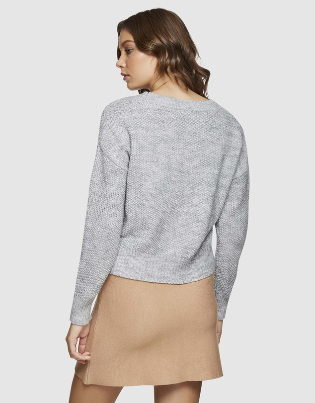 Oxford - Lollabelle V-Neck Cable Knit