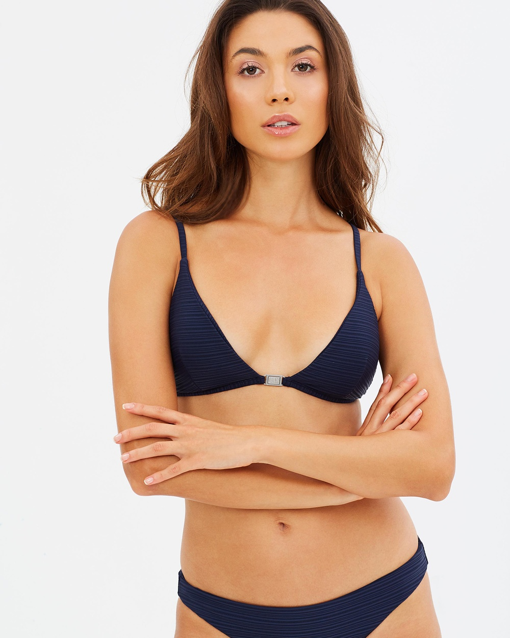 JETS Triangle Top Bikini Tops Navy Triangle Top