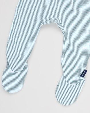 Pappe 2 Pack Bliss Footed Leggings   Babies - Pants (Corsair & Corsair Diamond)