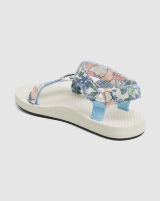 Billabong - The Scrunchie Sandals Flats (BLUE)