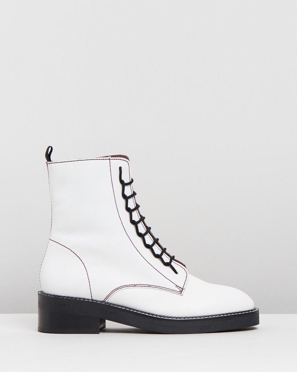 0d6412b86e5 Artist Lace-Up Boots by TOPSHOP Online