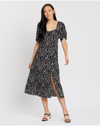 Dorothy Perkins - Sustainable Zebra Midi Dress