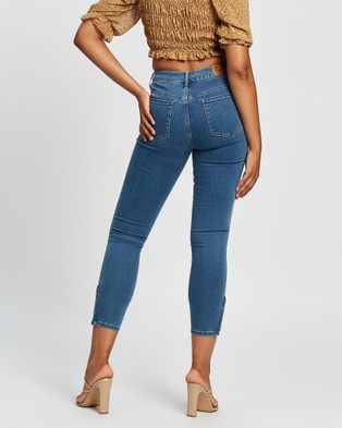 All About Eve Isabella Ankle Grazer Jeans - Jeans (Blue )