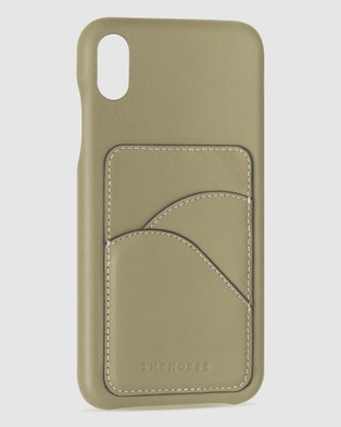The Horse iPhone XS Max   The Scalloped iPhone Cover - Tech Accessories (Apple Green iPhone XS Max)