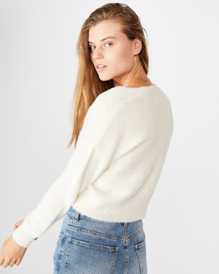 Cotton On Super Luxe Cardi - Jumpers & Cardigans (Tapioca)
