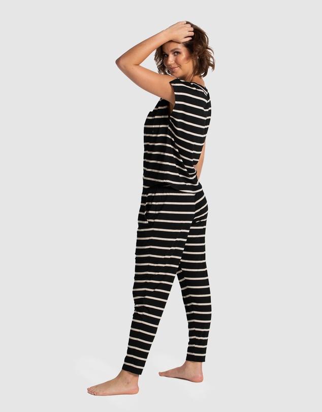 Women Emily Cropped PJ Set