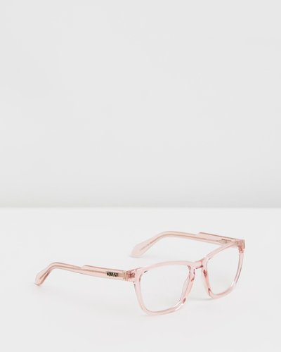 Hardwire Pink Square Blue Light Glasses
