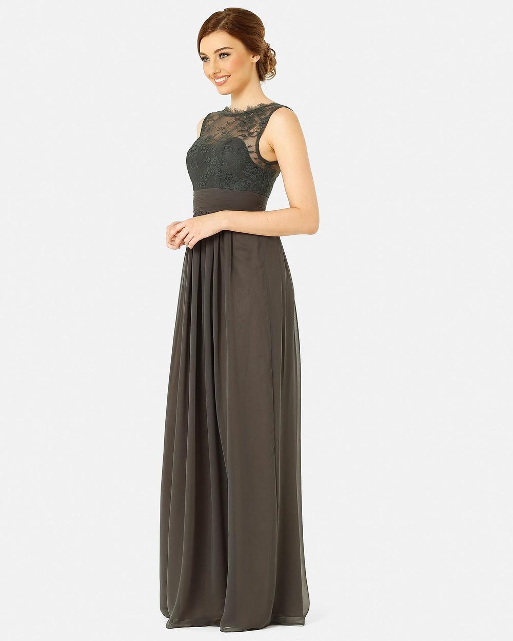 Tania Olsen Designs Charlotte Dress Bridesmaid Dresses Charcoal Charlotte Dress