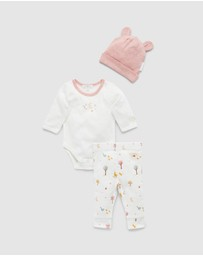 Purebaby - 3 Piece Gift Pack - Babies